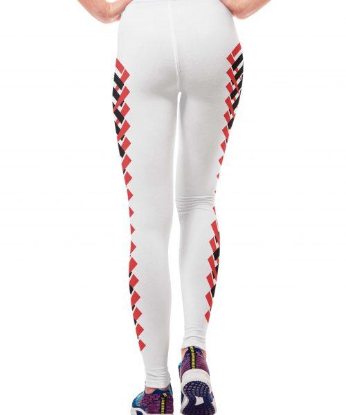 6cf7163625d52f White Yoga Leggings – #Cyrex Collection Printed Leggings ~ Vosenta