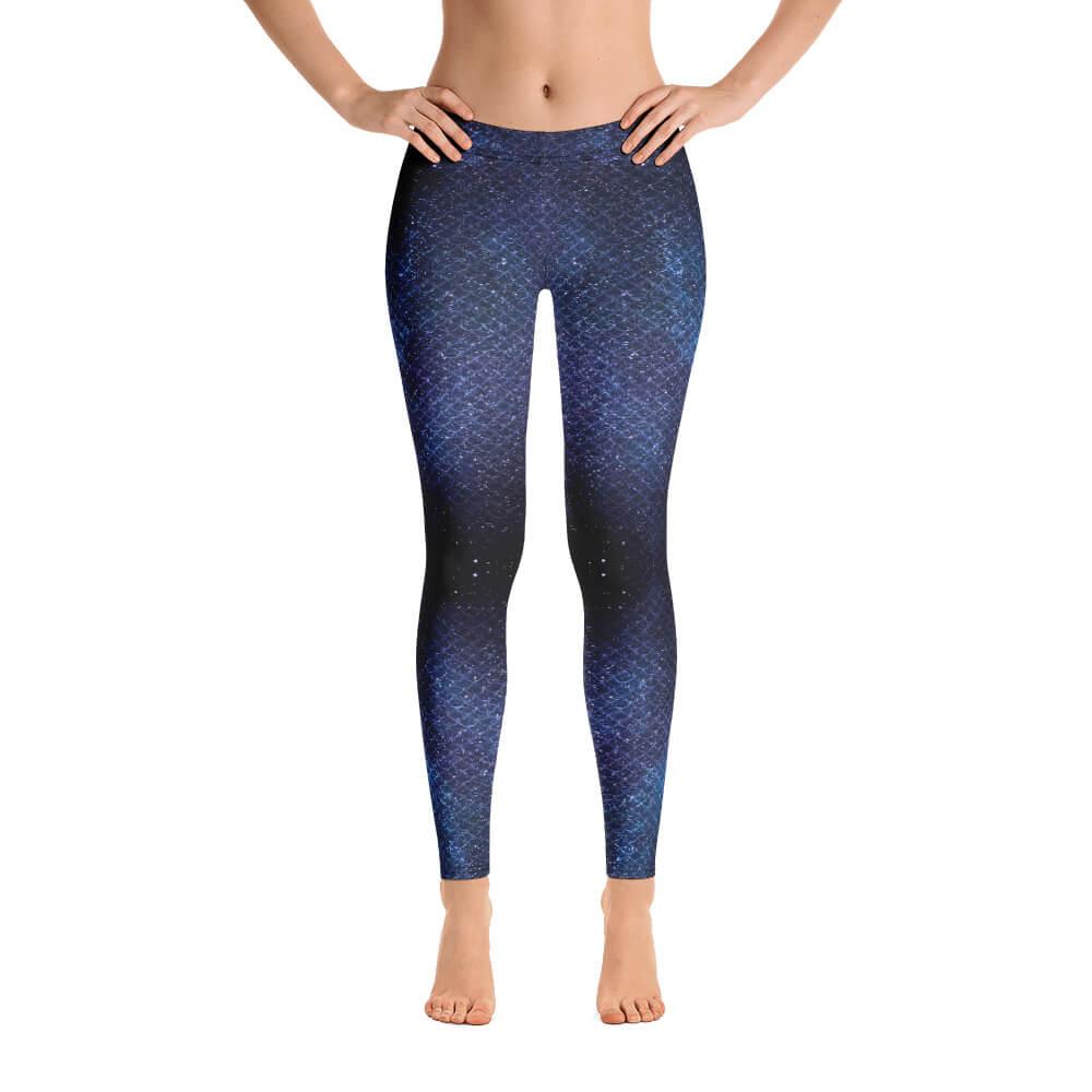 ad55b28c3feb11 Galaxy Mermaid Scales Leggings - #Galaxy Collection ~ Vosenta