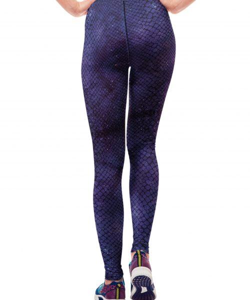 579c774b78e9e1 Snake Skin Galaxy Yoga Leggings - #Galaxy collection ~ Vosenta